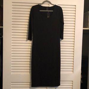 Forever 21  3/4 sleeve maxi dress